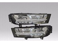 Car parts: A pair of new OEM LED Left hand drive headlights Audi Q7 4M USA Facelift 2015 - 2016 LHD