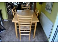 Kichen Table and 4 chairs