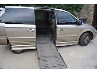 WHEELCHAIR ADAPTED CAR, Chrysler voyager