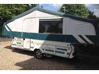 Pennine Pathfinder, folding camper, folding caravan, trailer tent