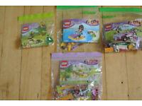 4 LEGO Friends bags