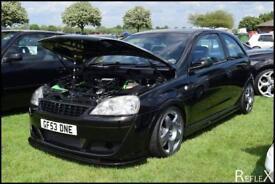 Corsa c turbo show car.