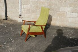 Vintage Retro 60's/70's Reclining Chair
