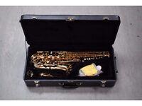 Mirage Alto Saxophone Gold Finish with Hard Case £260