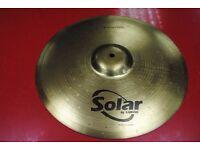 """Solar by Sabian 16""""/41cm Crash £30"""