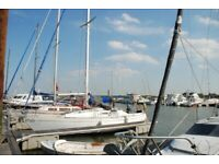 fully equipped sailing Yacht, 30ft long in Rochford