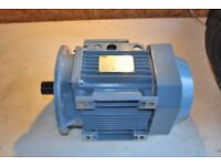 Electric motor ABB 1.2kw power.