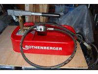 Rothenberger RP30 Test Pump
