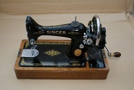 Antique Singer Sewing Machine - Immaculate, one owner