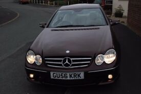 MERCEDES CLK280 SPORT AUTO COUPE 2006 FULL MOT FSH LOW MILEAGE 54,000 £4995