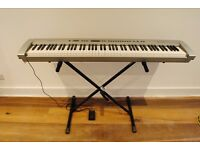 Portable Digital Grand Piano, Technics sx-P50 for Sale. Good condition, with pedal, stand and bag.
