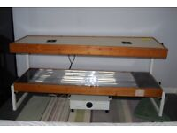 ex hire double sunbed