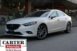 2015 Mazda MAZDA6 GT + NAVI + LEATHER + TECH PACKAGE!