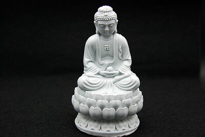 Lotus flower Buddha, Silicone Mold Chocolate Polymer Clay Jewelry Soap Wax Resin