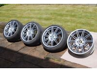 M series, genuine BMW refurbished alloy wheels and tyres.