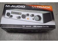M-Audio M-Track Two Channel USB Audio Interface Boxed £60