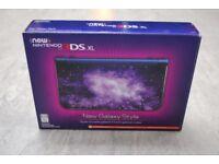 New Nintendo 3DS XL Galaxy Style Brand New £250