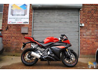 2016 Yamaha YZF R125 in Red. Great Condition, Fully Checked and Inspected