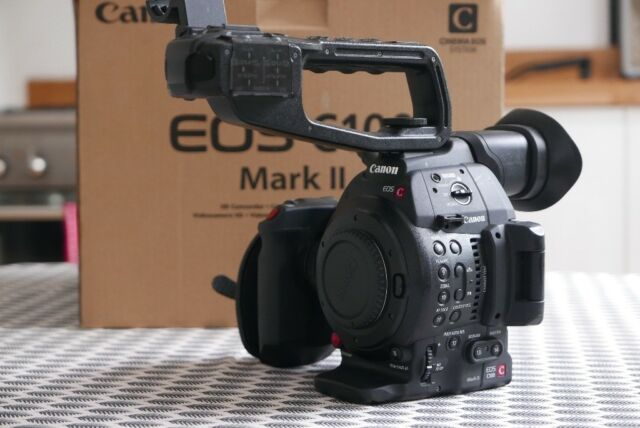 Canon EOS C100 Mark II - Used - Good Condition with Original Box and  Accessories | in Brixton, London | Gumtree
