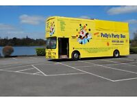 Amazing Children's Parties! - Polly's Party Bus