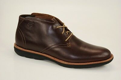 Mens Timberland EK City PT Chukka 84530 Brown Leather Lace Up Boots