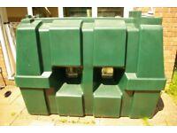 FREE! Titan plastic 1200 litre domestic oil tank