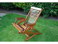 Solid Hardwood Garden Chair