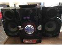 Panasonic CD MP3 Audio System