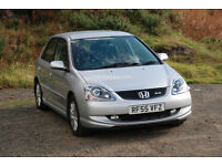 Honda Civic Type-S 2.0 VTEC - MINT - Low Miles - Long MOT - Sport model - 5 Door r - EP3