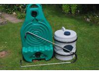Caravan water containers