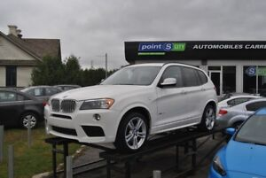 2014 BMW X3 xDrive28i M package, Navigation, pano