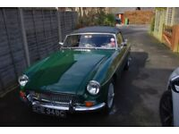 1965 MGB Roadster 1800 with overdrive