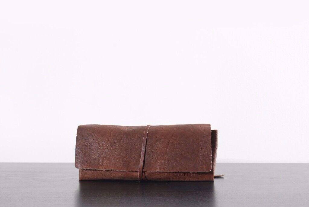 Kurtis Paul Leather Pencil Case.............Brand New