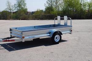 Galvanized 5X10 Trailers last years models --Blow Out Sale