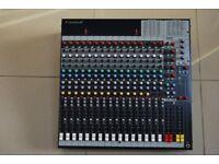 Soundcraft FX16ii 16 Channel mixer