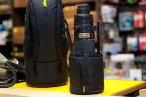 AF-S Nikkor 200-400mm f4G ED VR **Like New Condition** Includes Nikon Drop In Polarizer