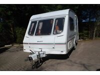 2 Berth Caravan - Swift Classic Silhouette INC AWNING & MOVER