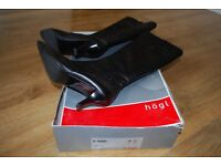 Hogl Black Leather Boots. Size 4.5.