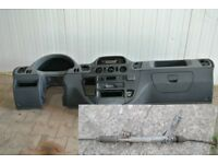 Left hand drive European dashboard and steering rack Mercedes Sprinter W902 - W905 1999 - 2005 LHD
