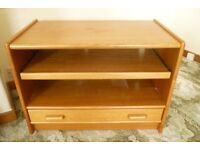 Television or General Purpose Lounge Table in Natural Teak