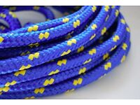 6mm Polypropylene Poly Rope Braided Cord Line Sailing Boating Yacht Camping 1 mtr price!!!!