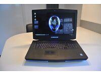 alienware 18 i7 4900mq-32gb ddr3l ram-dual gtx780m sli-250gb ssd+1tb+80gb msata