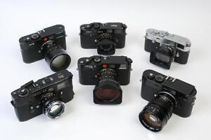 Sell Your Leica Cameras & Lenses/Vendez vos Appareils et Objectifs Leica