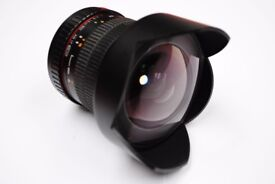 Samyang 14mm f/2.8 ED AS IF UMC Wide-Angle Lens Canon Fit £260