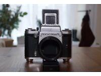 Pentacon Six TL - medium format 120 film camera (6x6) - body only