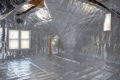 1000 Sqft Solex Reflective Foam Core 14 Inch Insulation Housewrap Barrier Solid