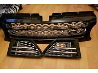 Range rover discovery grill sports