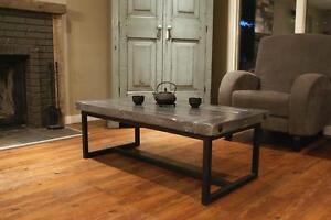 Wood & Iron Coffee Table $595- Choice of Colour u2014By LIKEN
