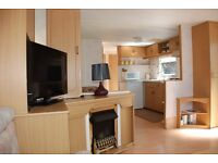 Luxury Self Catering Caravan on St Cyrus Nature Reserve.