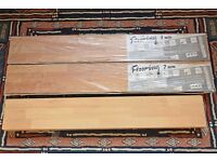 7mm Laminate Flooring - 2 unopened packets & 9 spare sheets